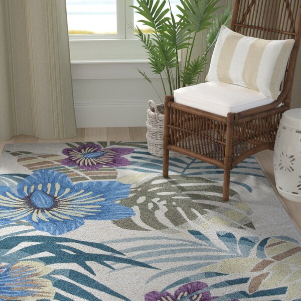 Roselawn Sand Palm Area Rug by Bay Isle Home