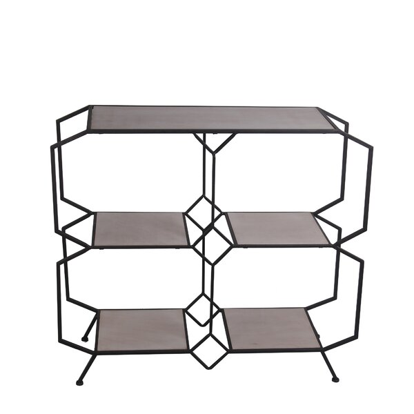 Rison Open Shelves Console Table by Williston Forge