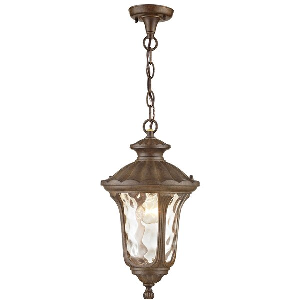 Weisberg 3-Light Outdoor Hanging Lantern by Charlton Home