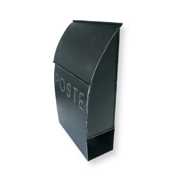 Milano Pointed Poste Wall Mounted Mailbox by NACH
