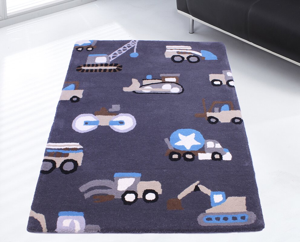ultimate rug co teppich kids unique collection trucks bewertungen. Black Bedroom Furniture Sets. Home Design Ideas