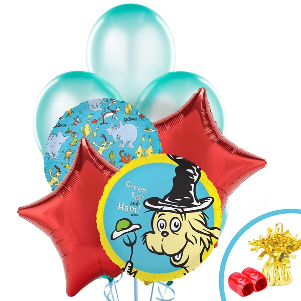 13 Piece Dr. Seuss Classics Balloon Bouquet Set by NA