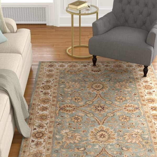 Vickers Gray Area Rug by Alcott Hill