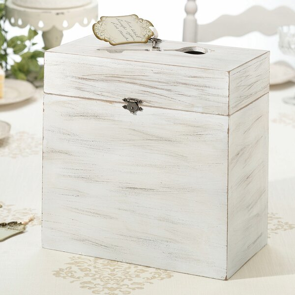 Wooden Key Card Box by Lillian Rose