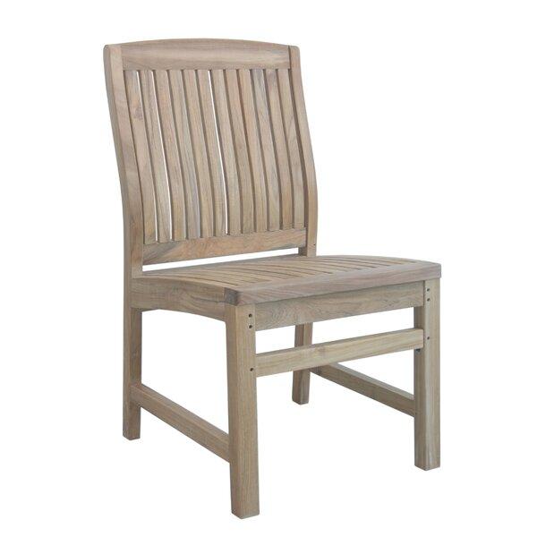 Bowker Teak Patio Dining Chair by Freeport Park Freeport Park