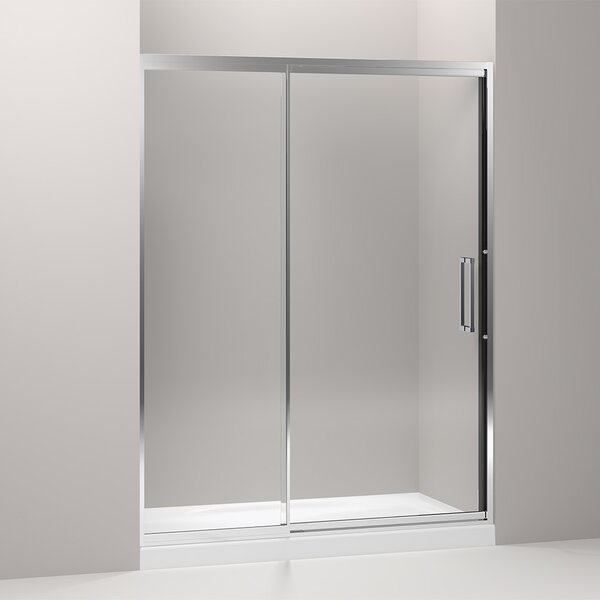 Lattis 60 x 76 Pivot Shower Door with CleanCoat® Technology by Kohler