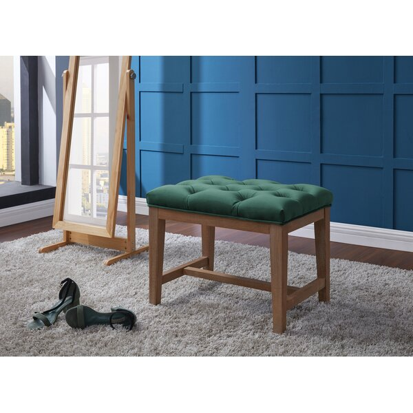 Pinehurst Tufted Ottoman by Ophelia & Co.