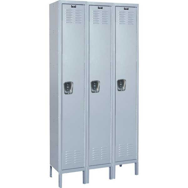 MedSafe 1 Tier 3 Wide School Locker by Hallowell