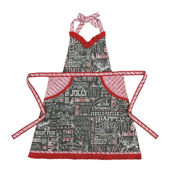 Chalkboard Snowflake Apron by Peking Handicraft