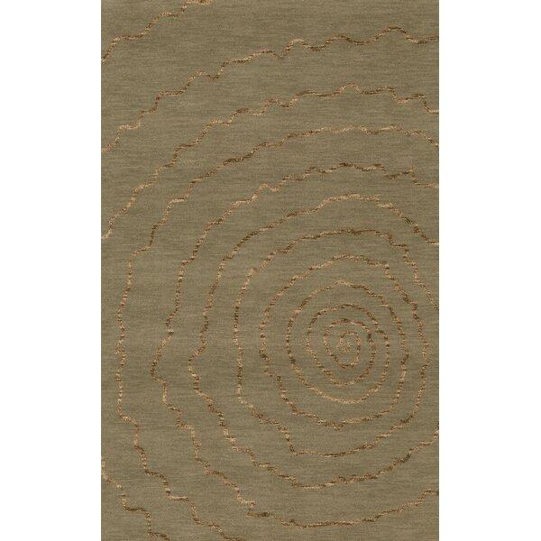 Bella Machine Woven Wool Gray Area Rug by Dalyn Rug Co.