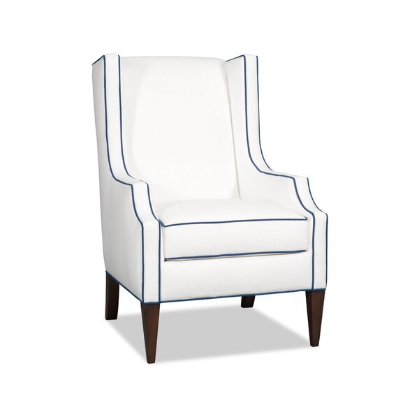 Pressley Wingback Chair by Sam Moore