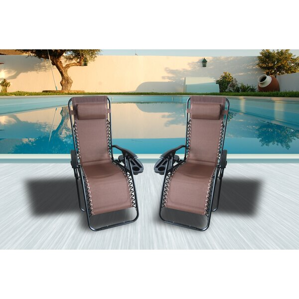 Stein Reclining Chaise Lounge by Freeport Park