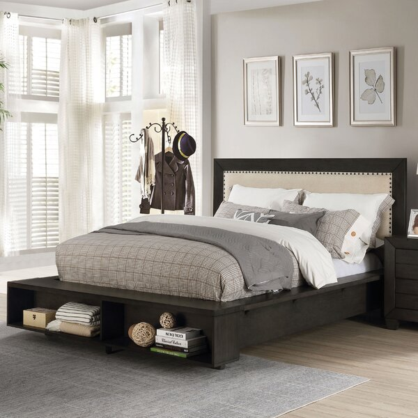 Dussault Upholstered Storage Platform Bed by Winston Porter