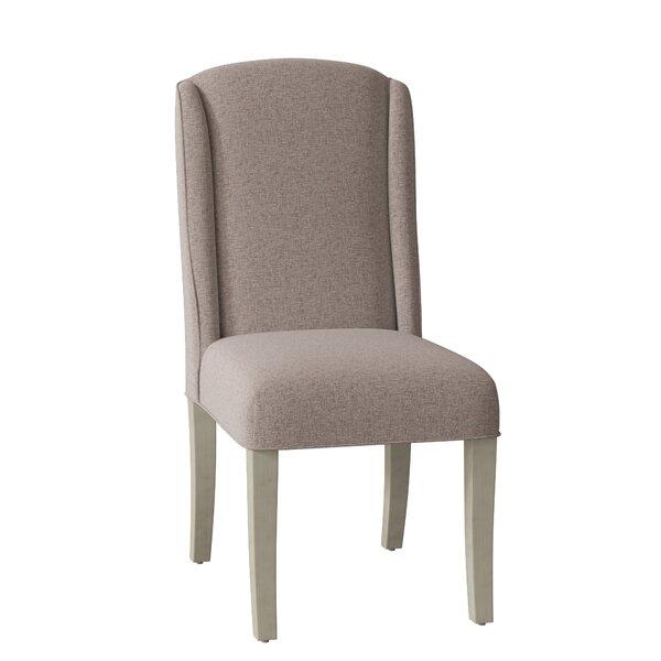 Dora Upholstered Wingback Parsons Chair by Fairfield Chair Fairfield Chair
