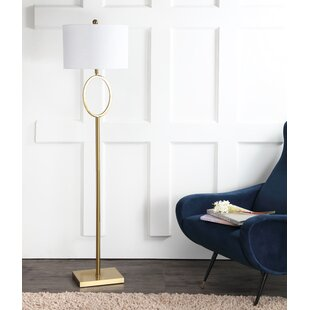 Top Reviews Courson Metal 61 Floor Lamp By Darby Home Co