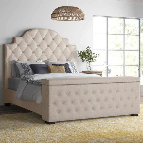 Thom Tufted Upholstered Storage Standard Bed by Mistana