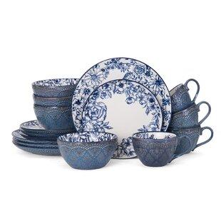 Farmhouse Rustic Blue Dinnerware Sets Place Settings Birch Lane