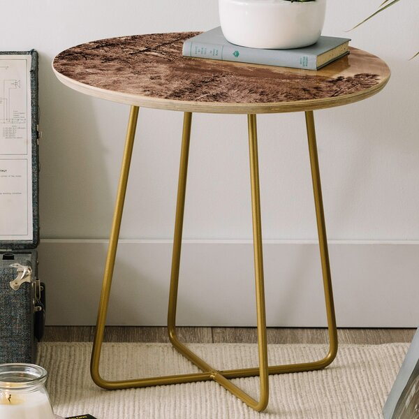 Lisa Argyropoulos Yosemite View Round End Table by East Urban Home