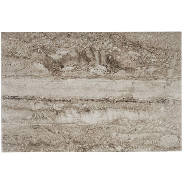 Newry 12 x 18 Ceramic Field Tile in Mink by Itona Tile