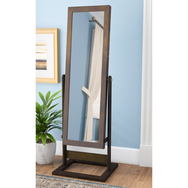 Whitney Free Standing Jewelry Armoire with Mirror by Andover Mills