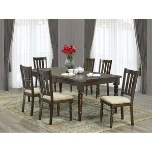 Fairmont 7 Piece Dining Set by Brassex