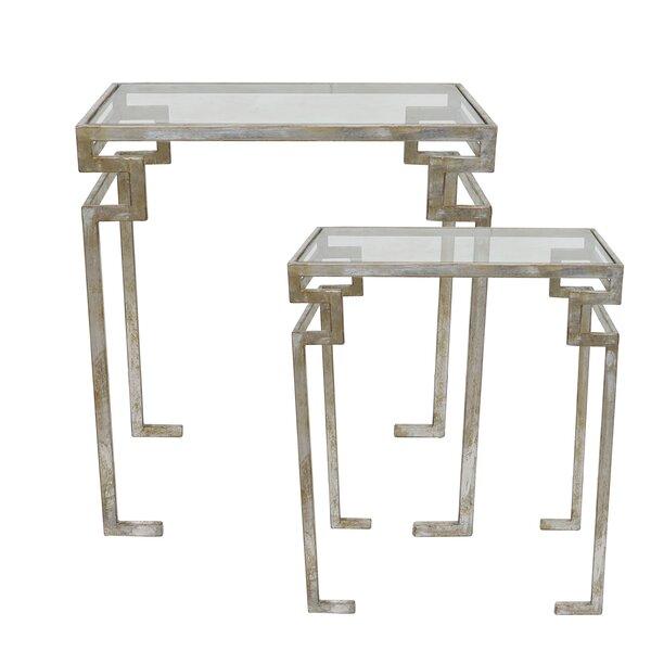 Marasco 2 Piece Nesting Tables By Astoria Grand