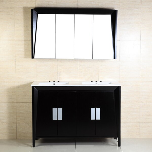 48 Double Sink Vanity by Bellaterra Home