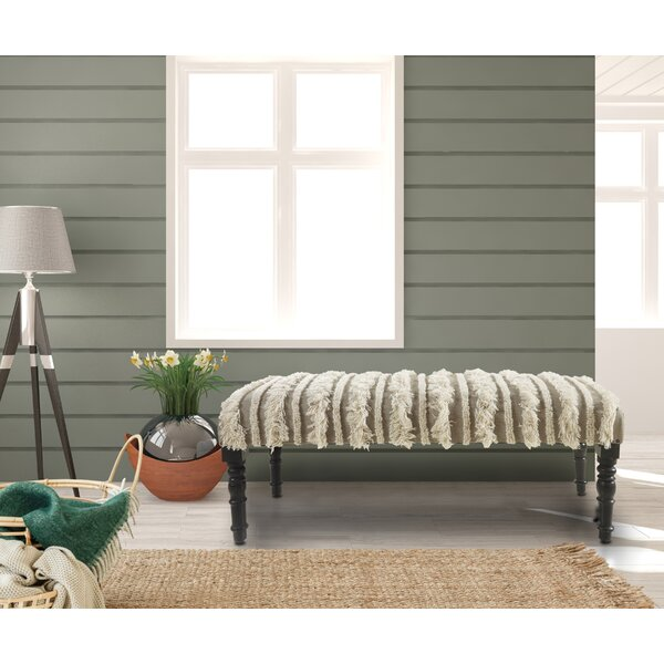 Immingham Upholstered Bench by Bungalow Rose