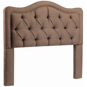 Bromberg Upholstered Panel Headboard by Darby Home Co