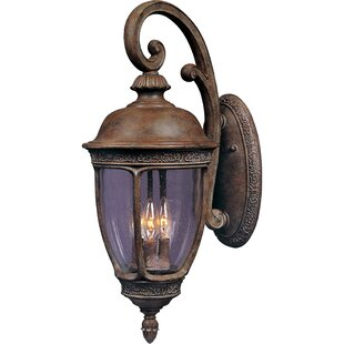 Affordable Price Diahann 3-Light Outdoor Wall Lantern By World Menagerie