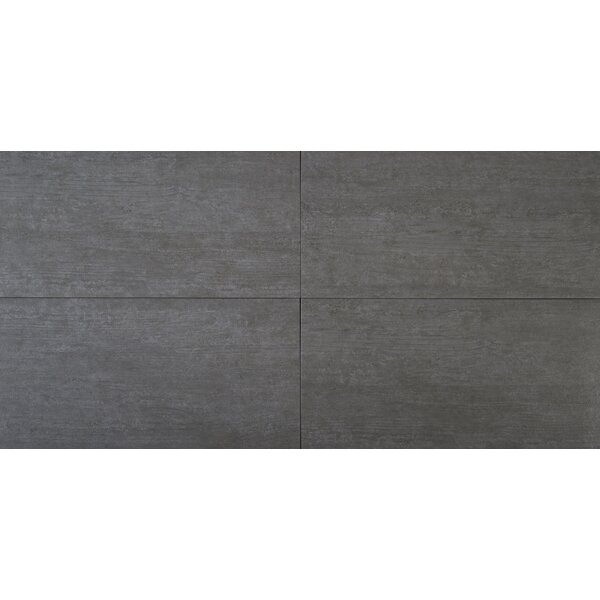 Metropolis Cloud 12 x 24 Porcelain Field Tile in Gray by MSI