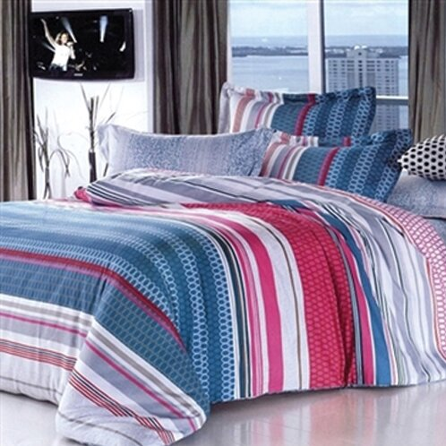 College Ave Meridian 2 Piece Twin XL Comforter Set by Byourbed