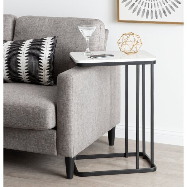 Marble Top C-Table End Table By Latitude Run