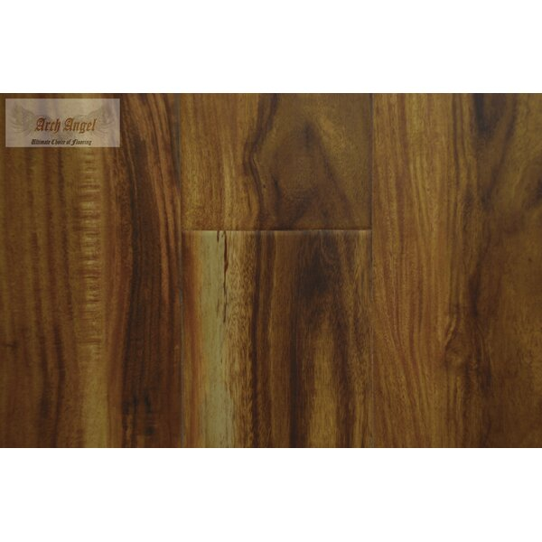 0.5 x 0.75 x 94 Acacia Quarter Round in Chai by All American Hardwood