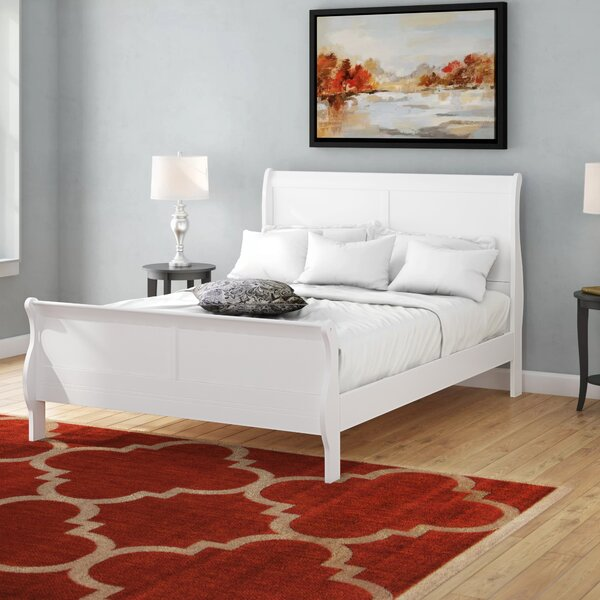 Emily Sleigh Bed by Grovelane Teen