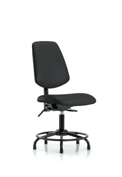 Trista Round Tube Base Ergonomic Office Chair by Symple Stuff