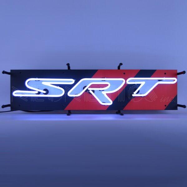 Dodge SRT Junior Wall Light by Neonetics