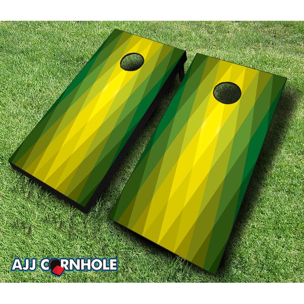 Kryptonite Cornhole Set by AJJ Cornhole