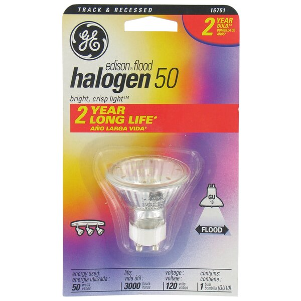 120-Volt Edison Halogen Light Bulb by GE