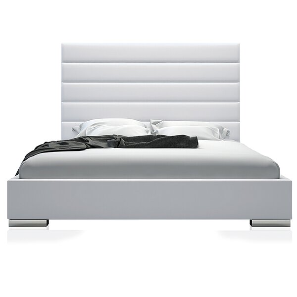 Upholstered Storage Platform Bed by UrbanMod