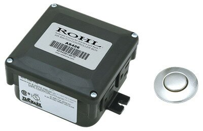 Air Activated Switch Button with Control Box for Waste Disposal by Rohl