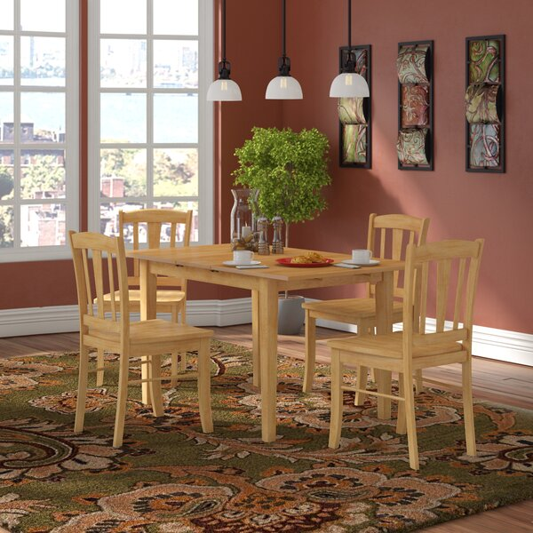 Balfor 5 Piece Dining Set By Andover Mills #2