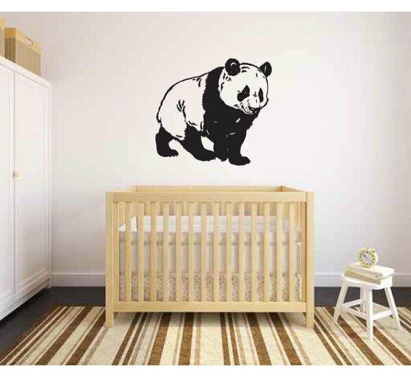 Zoomie Kids Ianthe Panda Bear Wall Decal Wayfair