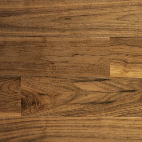 Character 5 Engineered Walnut Hardwood Flooring in Natural by Somerset Floors