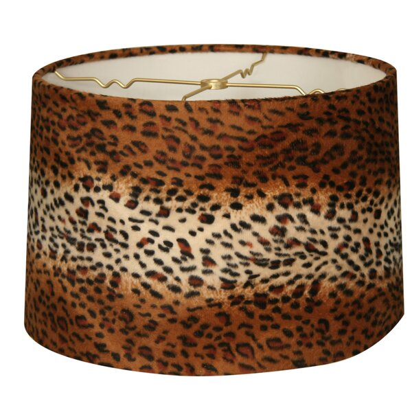 12 Linen Drum Lamp Shade by World Menagerie