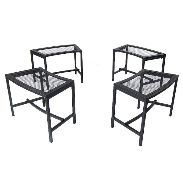 Haven Mesh Side Table (Set of 4) by Freeport Park