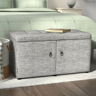 Argent Upholstered Shoe Storage Bench by Andover Mills