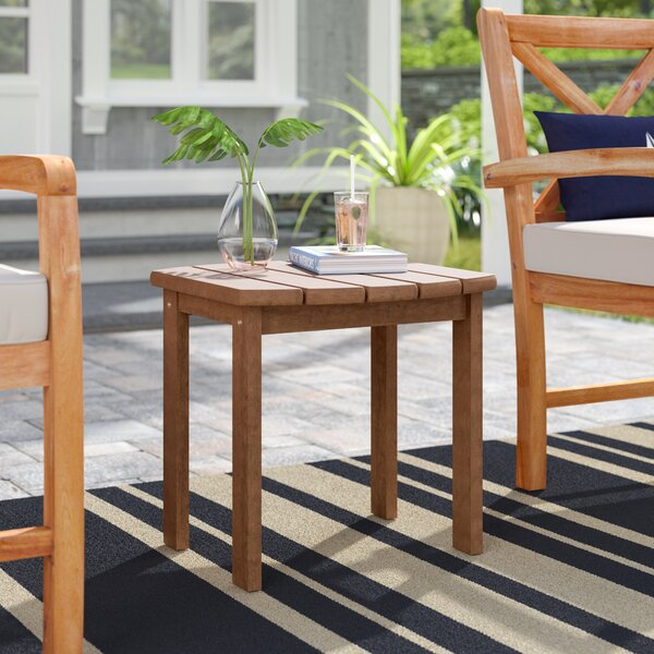 Medford Solid Wood Side Table By Beachcrest Home