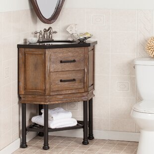 Quickview Laurel Foundry Modern Farmhouse Valensole 32 Single Corner Bath Vanity Sink With Granite Top