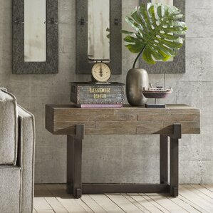 Timber Console Table by INK+IVY